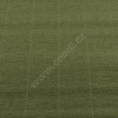Krepový papír 180g role 50cm x 2,5m - zelený 612