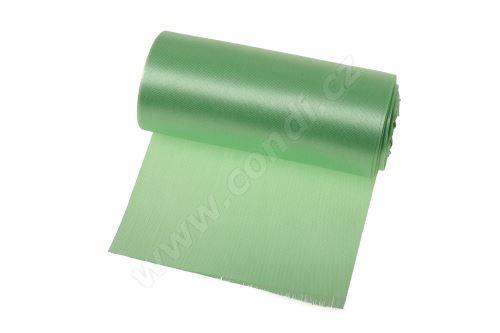 Saténová role 12cm x 9,1m 177 - světle zelená