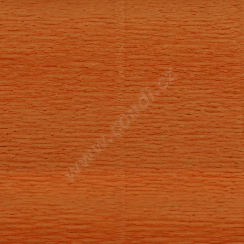Krepový papír 180g role 50cm x 2,5m - meruňkový 610
