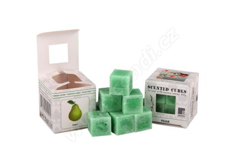 Vonný vosk do aromalamp Scented cubes - pear