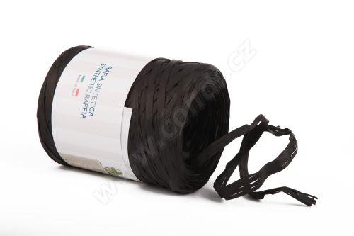 Stuha rafie matná 6802 5mm x 200m - 18 černá