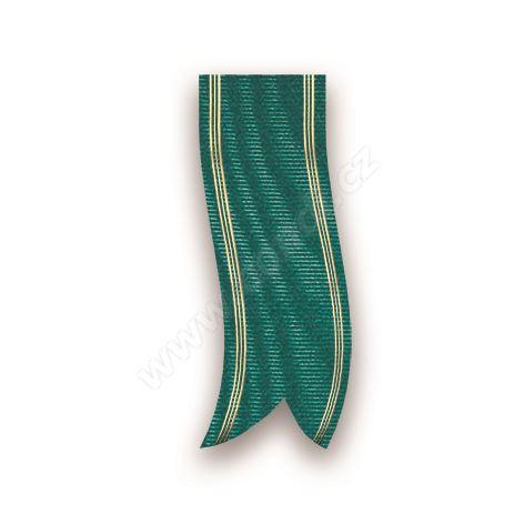 Smuteční stuha mramorová s metalem 68190 7 cm x 100 m - 27 tmavě zelená
