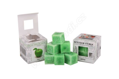 Vonný vosk do aromalamp Scented cubes - apple
