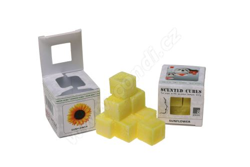 Vonný vosk do aromalamp Scented cubes - sunflower