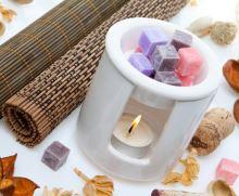 Vonný vosk do aromalamp Scented cubes - orange & cinnamon
