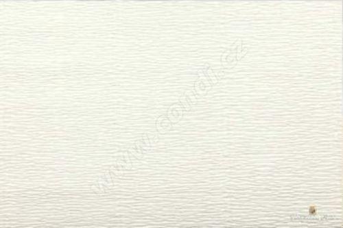 Krepový papír 180g role 50cm x 2,5m - sv. krémový 603
