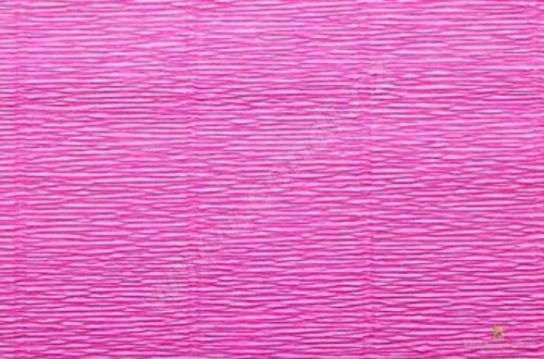 Krepový papír 180g role 50cm x 2,5m - fuchsiový 570