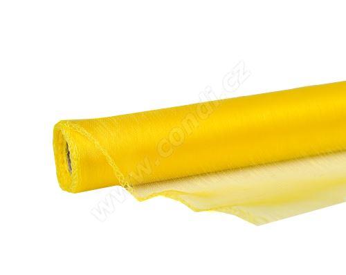 Organza uni 14,5cm x 10m ŽLUTÁ