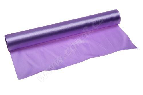 Saténová role 36cm x 9,1m 54 - fialová