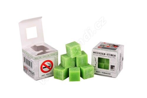Vonný vosk do aromalamp Scented cubes - anti tabacco