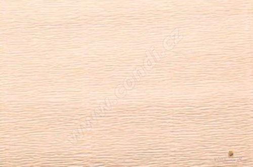 Krepový papír 180g role 50cm x 2,5m - lososový 17A5