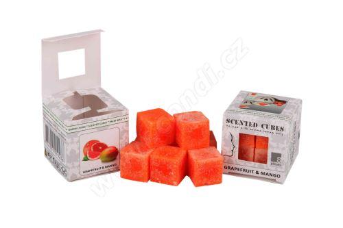 Vonný vosk do aromalamp Scented cubes - grapefruit & mango