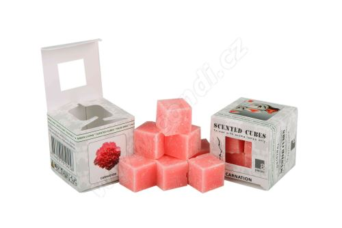 Vonný vosk do aromalamp Scented cubes - carnation