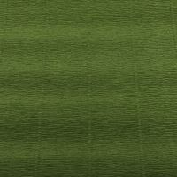 Krepový papír 180g role 50cm x 2,5m - zelený 622