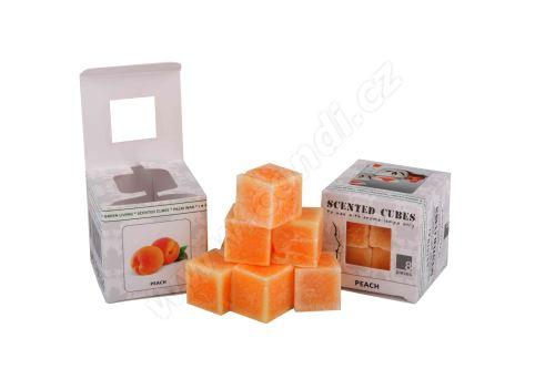 Vonný vosk do aromalamp Scented cubes - peach