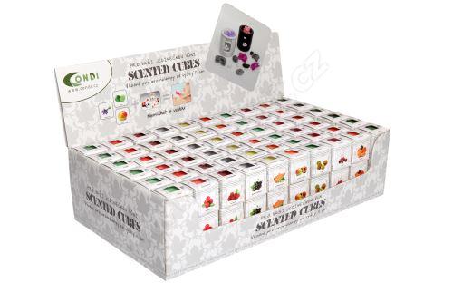 Vonné vosky Scented Cubes - květinový set B