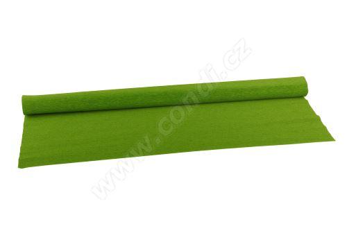 Krepový papír 90g role 50cm x 1,5m - 396  apple green