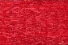 Krepový papír role 50cm x 2,5m - červený 589