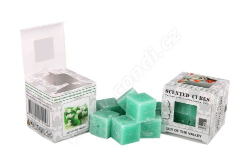 Vonný vosk do aromalamp Scented cubes - lily of the valley