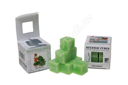 Vonný vosk do aromalamp Scented cubes - patchouli