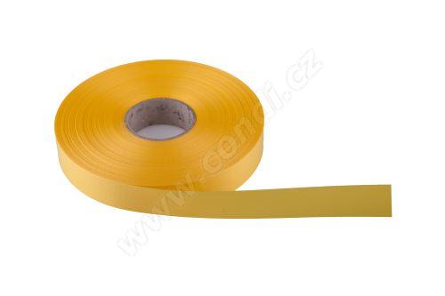 Plastová PP stuha Senza flange 6800 E line 1,9 cm x 100 m - 02 žlutá