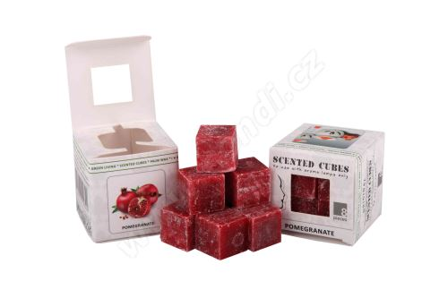 Vonný vosk do aromalamp Scented cubes - pomegranate