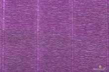 Krepový papír role 50cm x 2,5m - fialový 17E/2