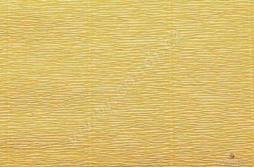 Krepový papír 180g role 50cm x 2,5m - žlutozelený 579
