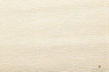 Krepový papír 180g role 50cm x 2,5m - krémová 577