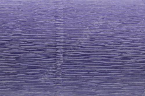 Krepový papír 180g role 50cm x 2,5m - světle fialová 20E4
