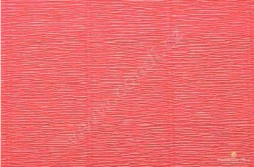 Krepový papír 180g role 50cm x 2,5m - červený 17A6