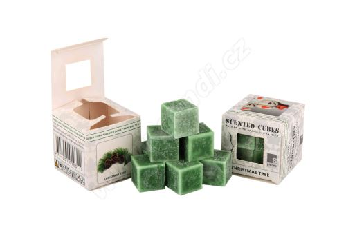 Vonný vosk do aromalamp Scented cubes - christmas tree