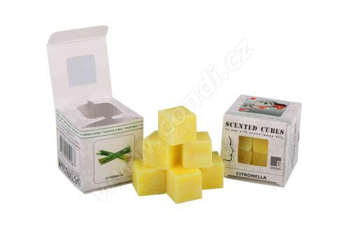 Vonný vosk do aromalamp Scented cubes - citronella
