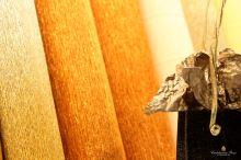 Krepový papír role 50cm x 2,5m - hnědá 568
