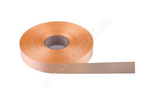 Plastová PP stuha Senza flange 6800 E line 1,9 cm x 100 m - 22 krémová