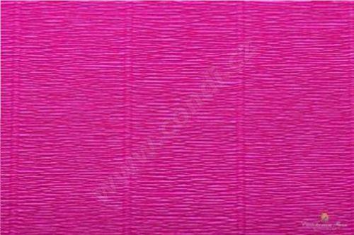 Krepový papír 180g role 50cm x 2,5m - cyklámenový 552