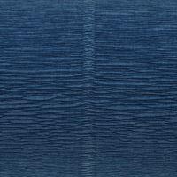 Krepový papír role 50cm x 2,5m - modrý 615