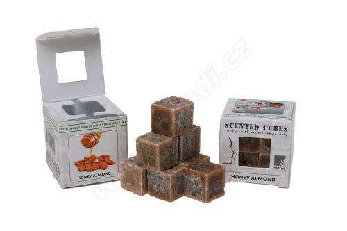 Vonný vosk do aromalamp Scented cubes - honey almond