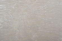Vlizelín dekorativní a aranžerský s glitrem 37,5cm ŠEDÝ