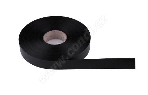 Plastová PP stuha Senza flange 6800 E line 1,9 cm x 100 m - 18 černá