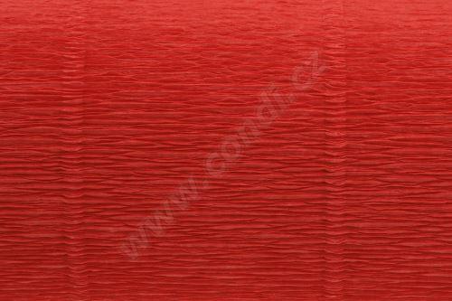 Krepový papír 180g role 50cm x 2,5m - červená 20E5