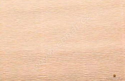 Krepový papír 180g role 50cm x 2,5m - lososový 17A4