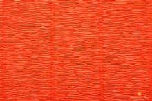 Krepový papír role 50cm x 2,5m - oranžový 17E/6