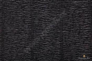 Krepový papír 180g role 50cm x 2,5m - černá 602