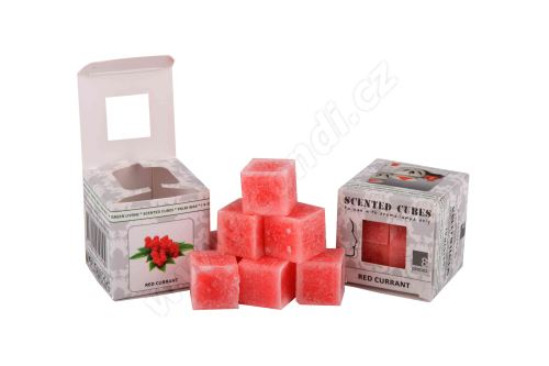 Vonný vosk do aromalamp Scented cubes - red currant