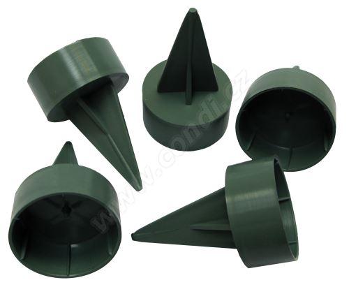 Pinholder držák na široké svíčky 1103 25ks/bal - zelený