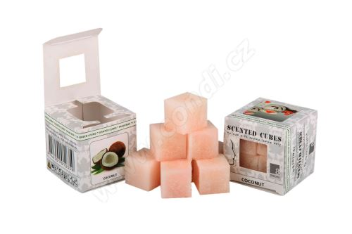 Vonný vosk do aromalamp Scented cubes - coconut