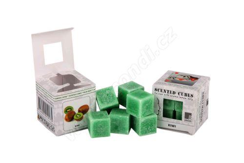 Vonný vosk do aromalamp Scented cubes - kiwi