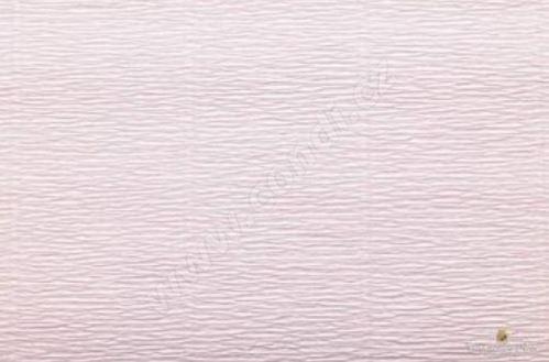 Krepový papír 180g role 50cm x 2,5m - světle růžový 569