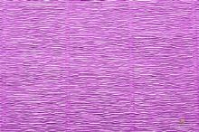 Krepový papír role 50cm x 2,5m - růžovofialová 590